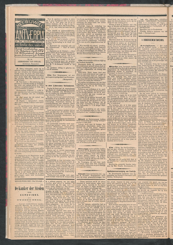 De Stad Kortrijk 1911-12-30 p2