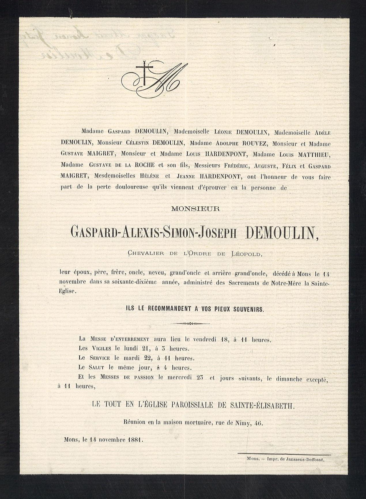 Gaspard-Alexis-Simon-Joseph Demoulin