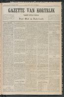 Gazette Van Kortrijk 1885-02-28