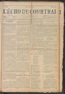 L'echo De Courtrai 1911-04-27