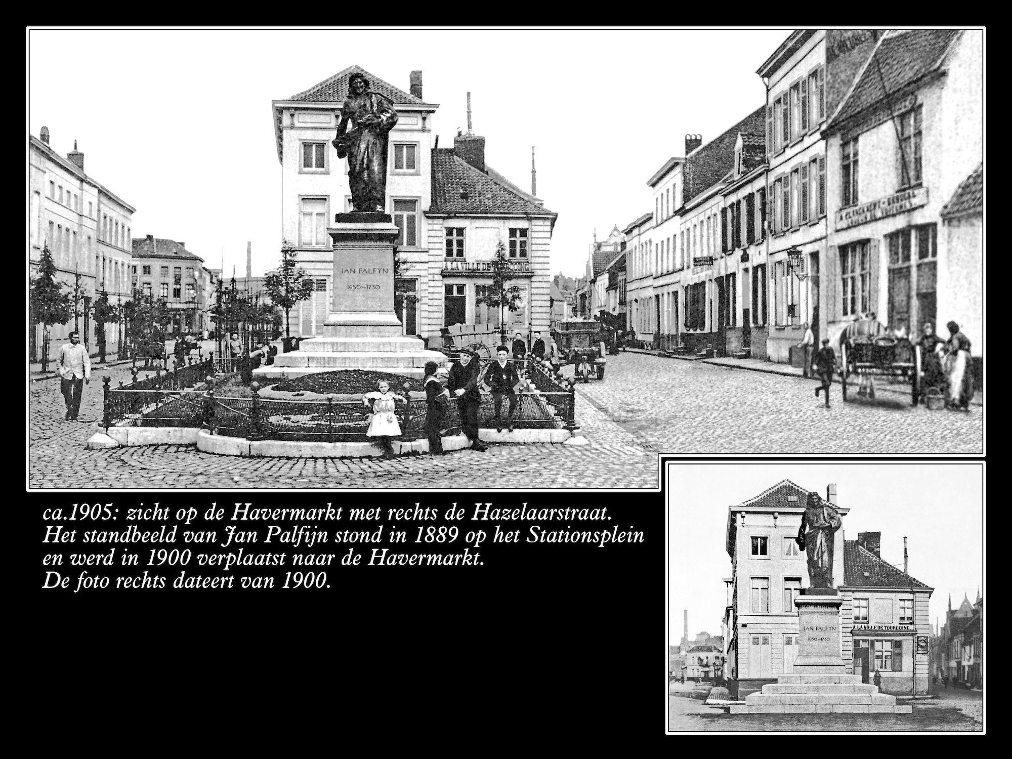 Havermarkt anno 1900 en 1905