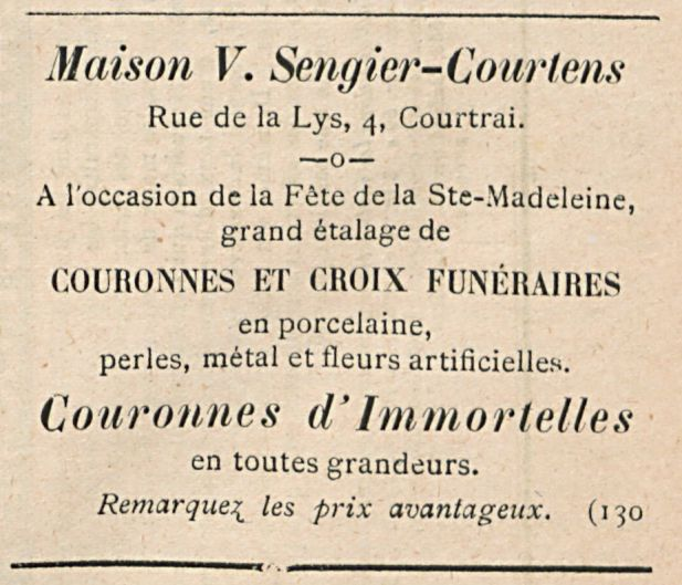 Maison V. Sengier-Courtens