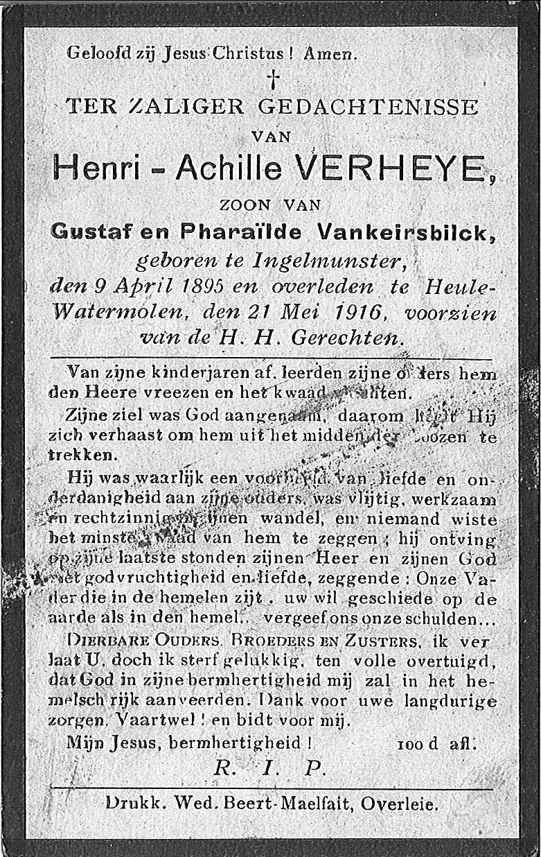 Henri-Achille Verheye