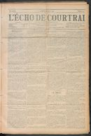 L'echo De Courtrai 1910-01-20 p1