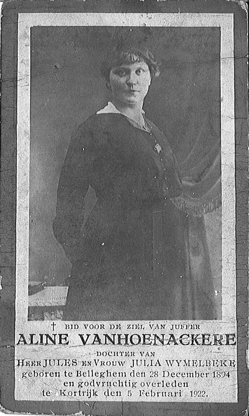 Aline Vanhoenackere
