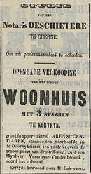 OPENBARE VERKOOPING WOONHUIS