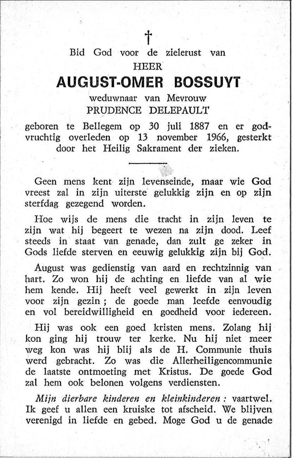 August-Omer Bossuyt
