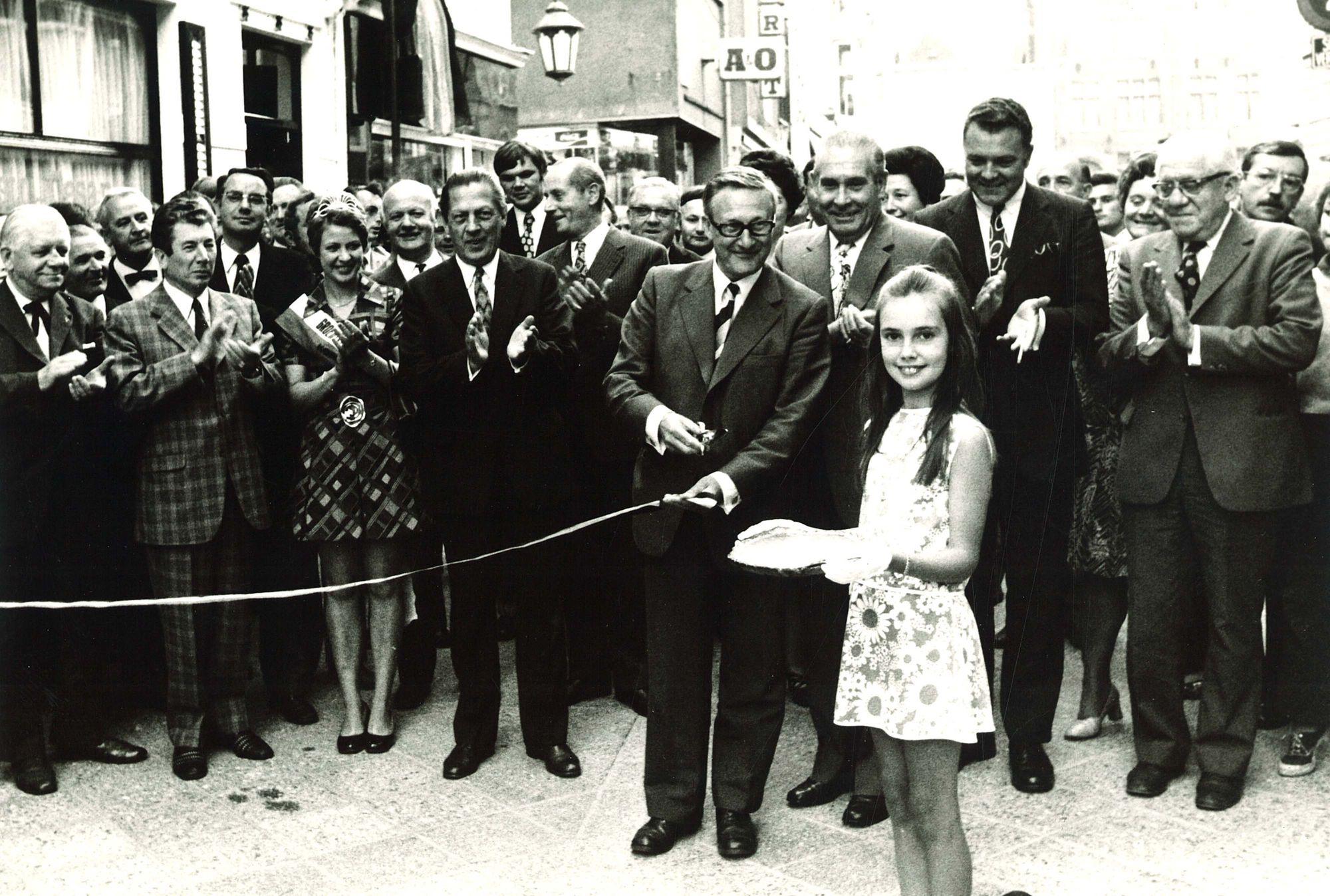 Opening verkeersvrije Wijngaardstraat
