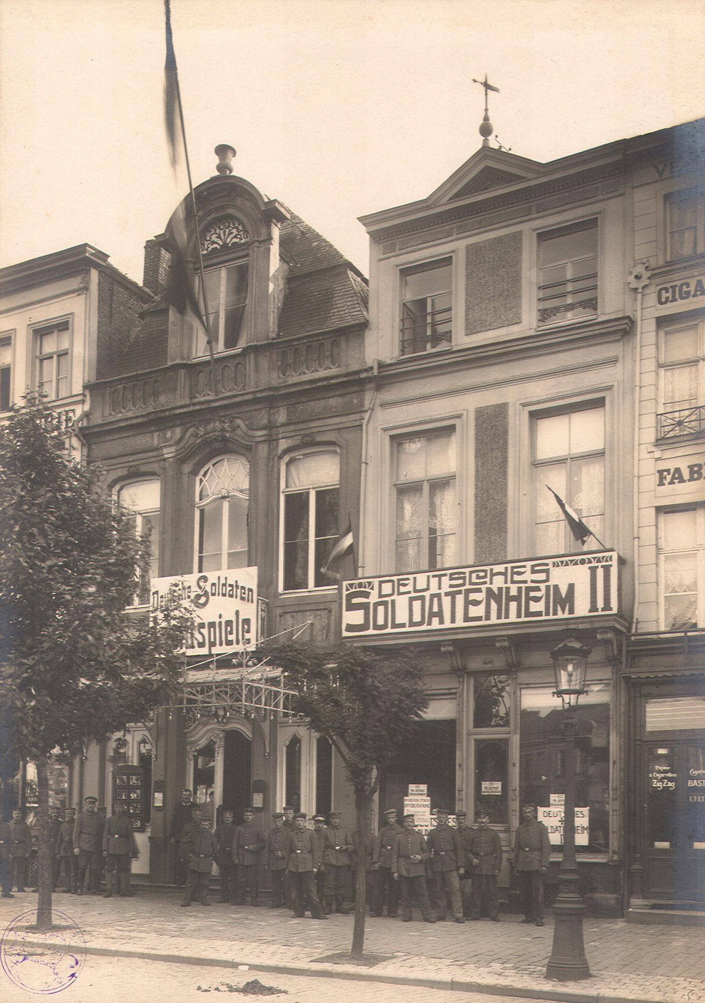 Soldatenheim II op de Grote Markt