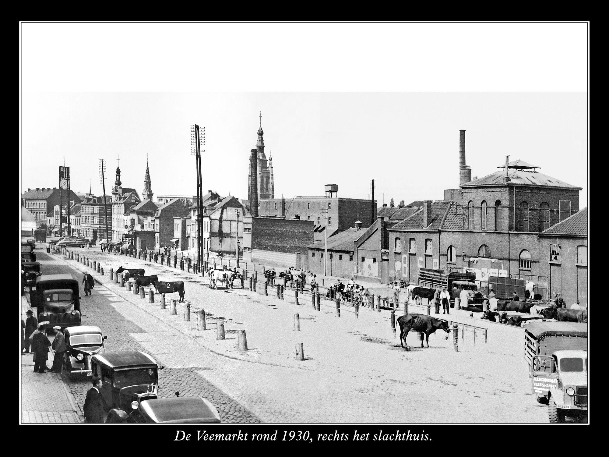 Veemarkt  en het slachthuis
