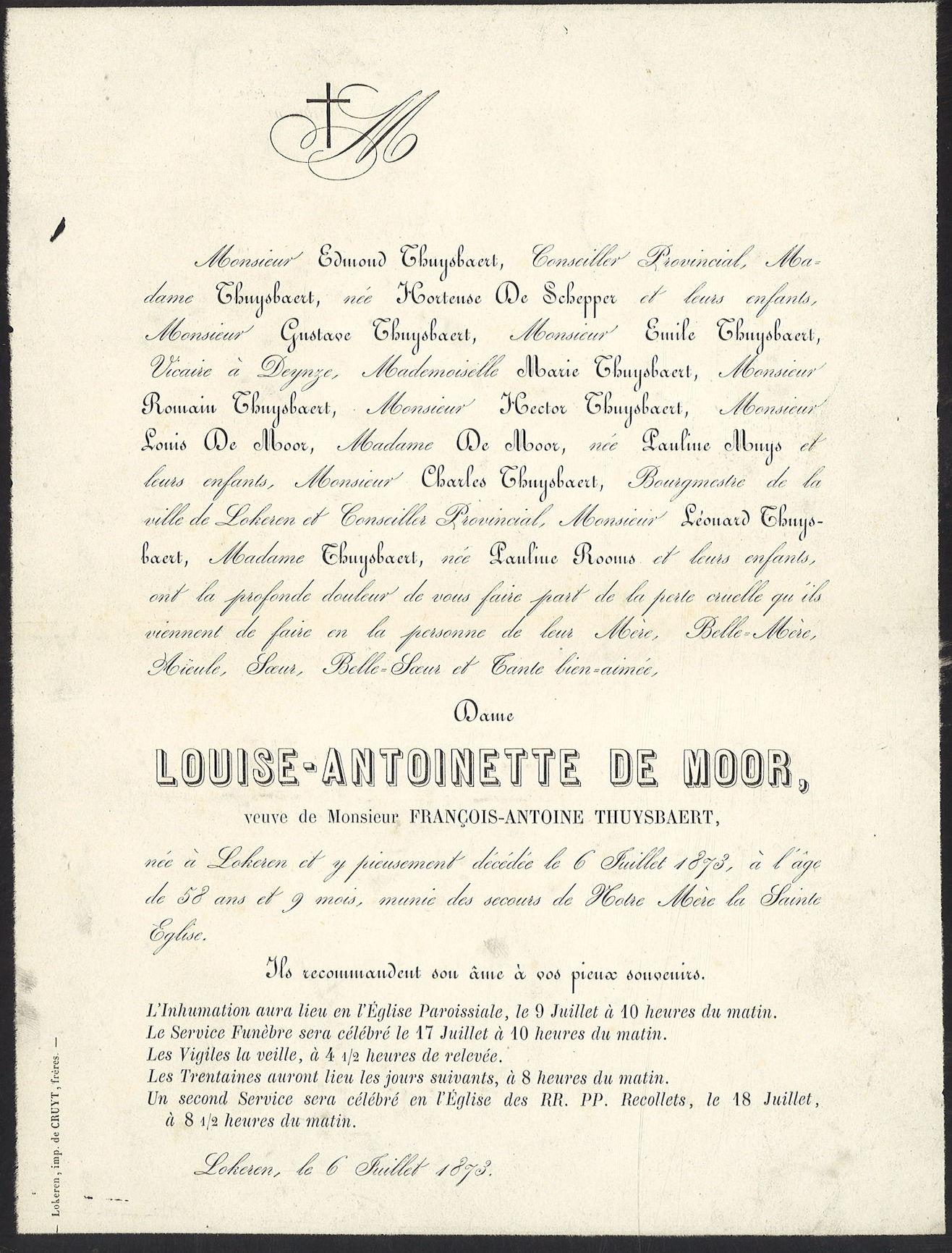 Louise-Antoinette De Moor