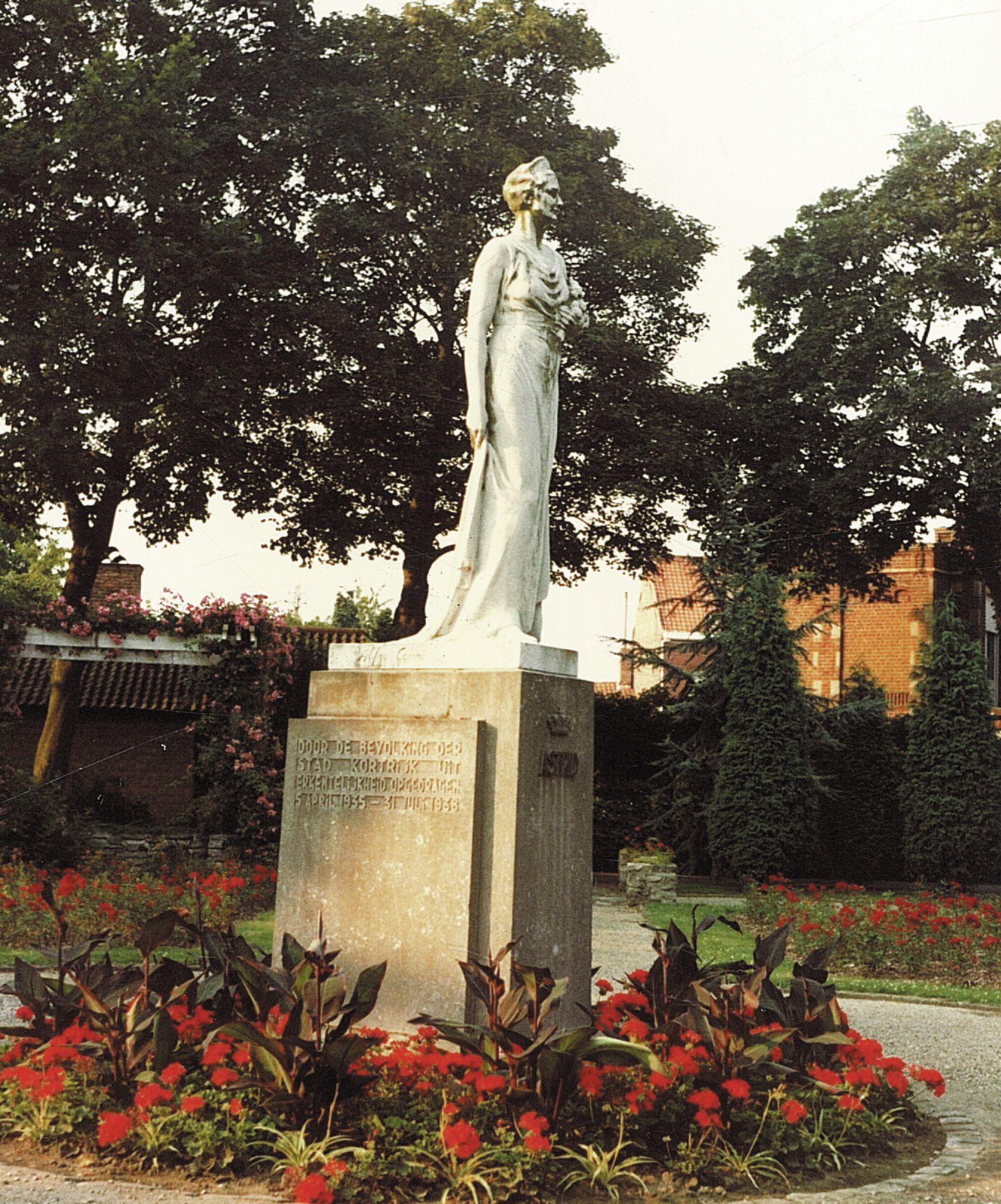 Standbeeld koningin Astrid
