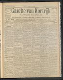 Gazette Van Kortrijk 1907-06-06
