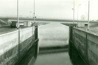Brug over kanaal Bossuit-Kortrijk te Moen 1981