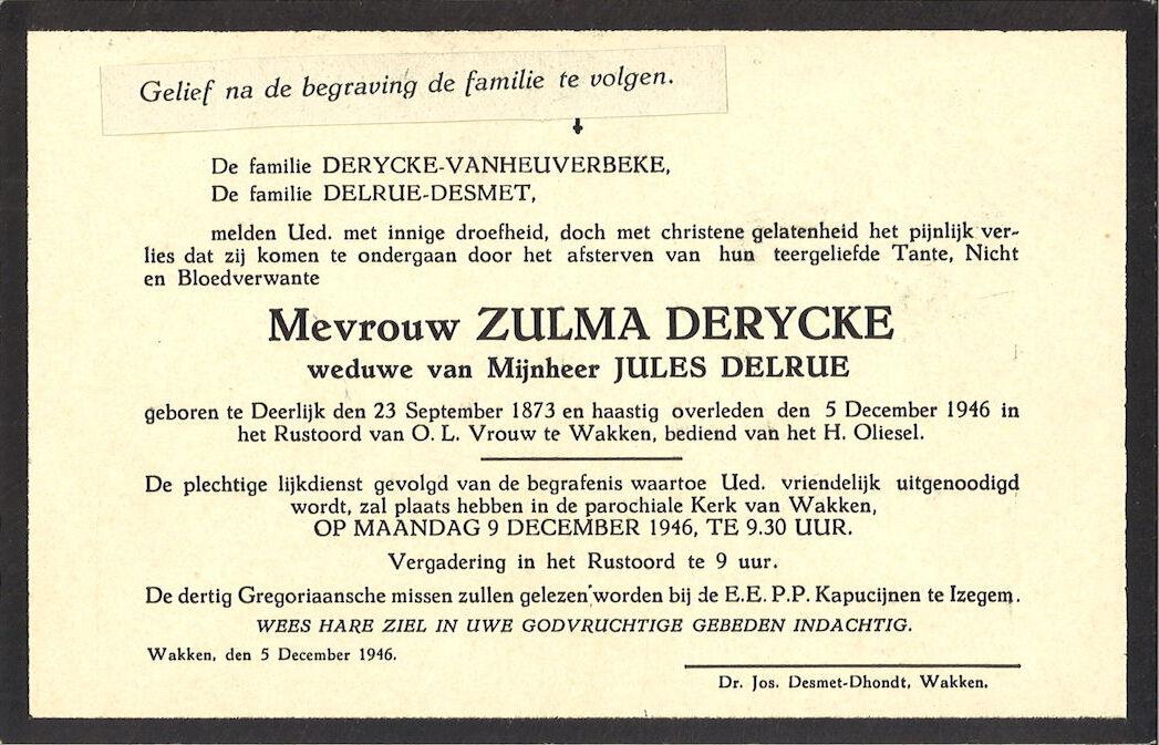 Zulma Derycke