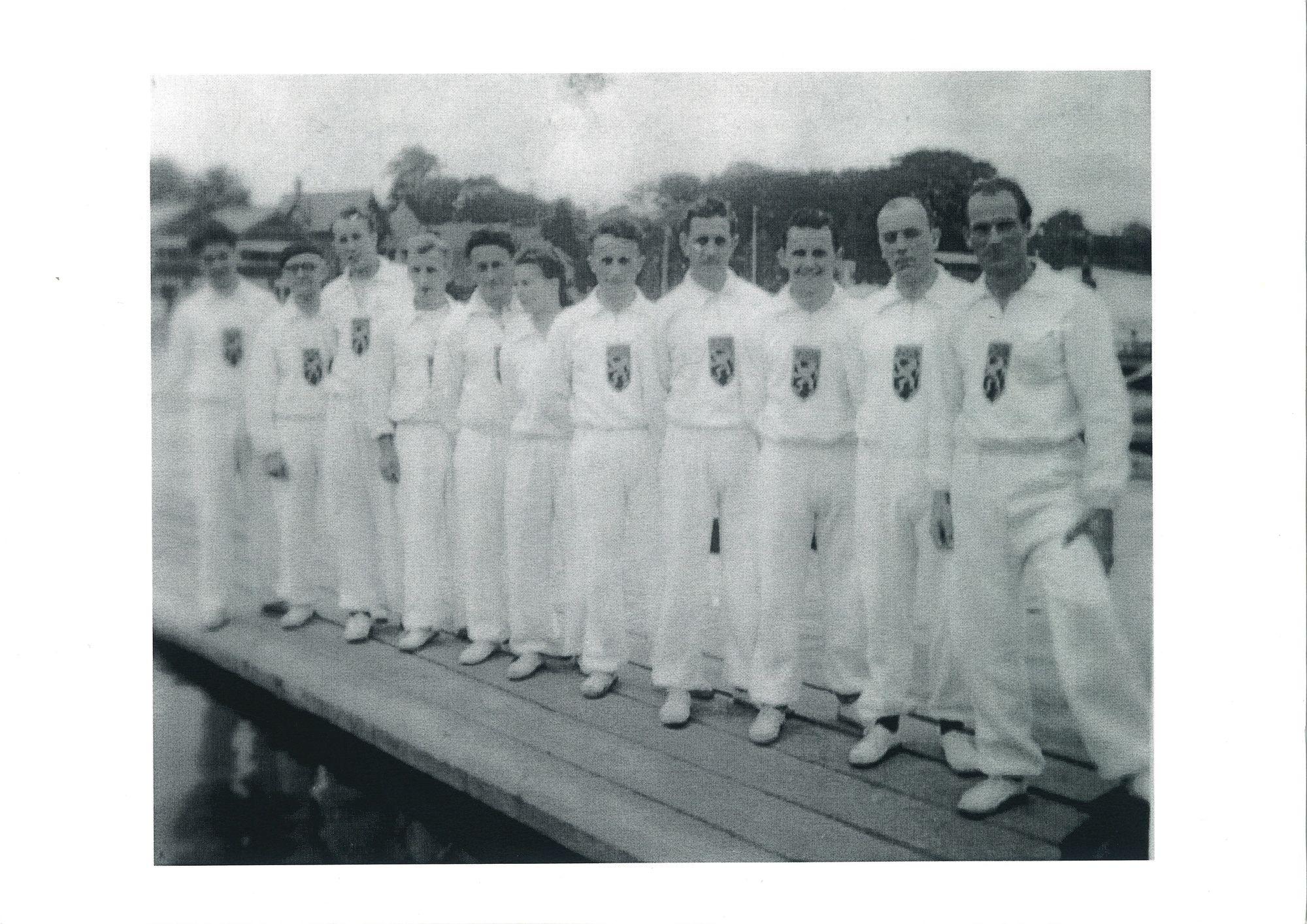 De Belgische delegatie voor Henley 1948