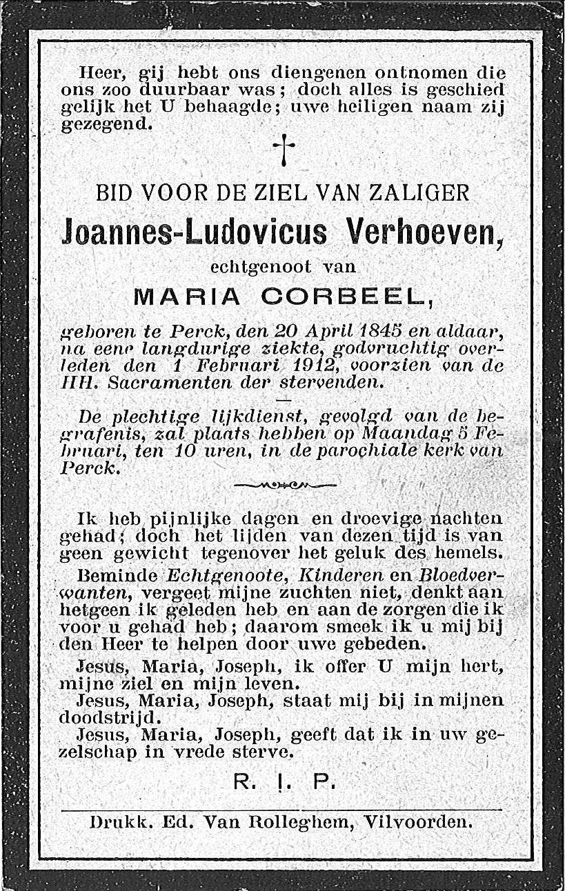 Joannes-Ludovicus Verhoeven
