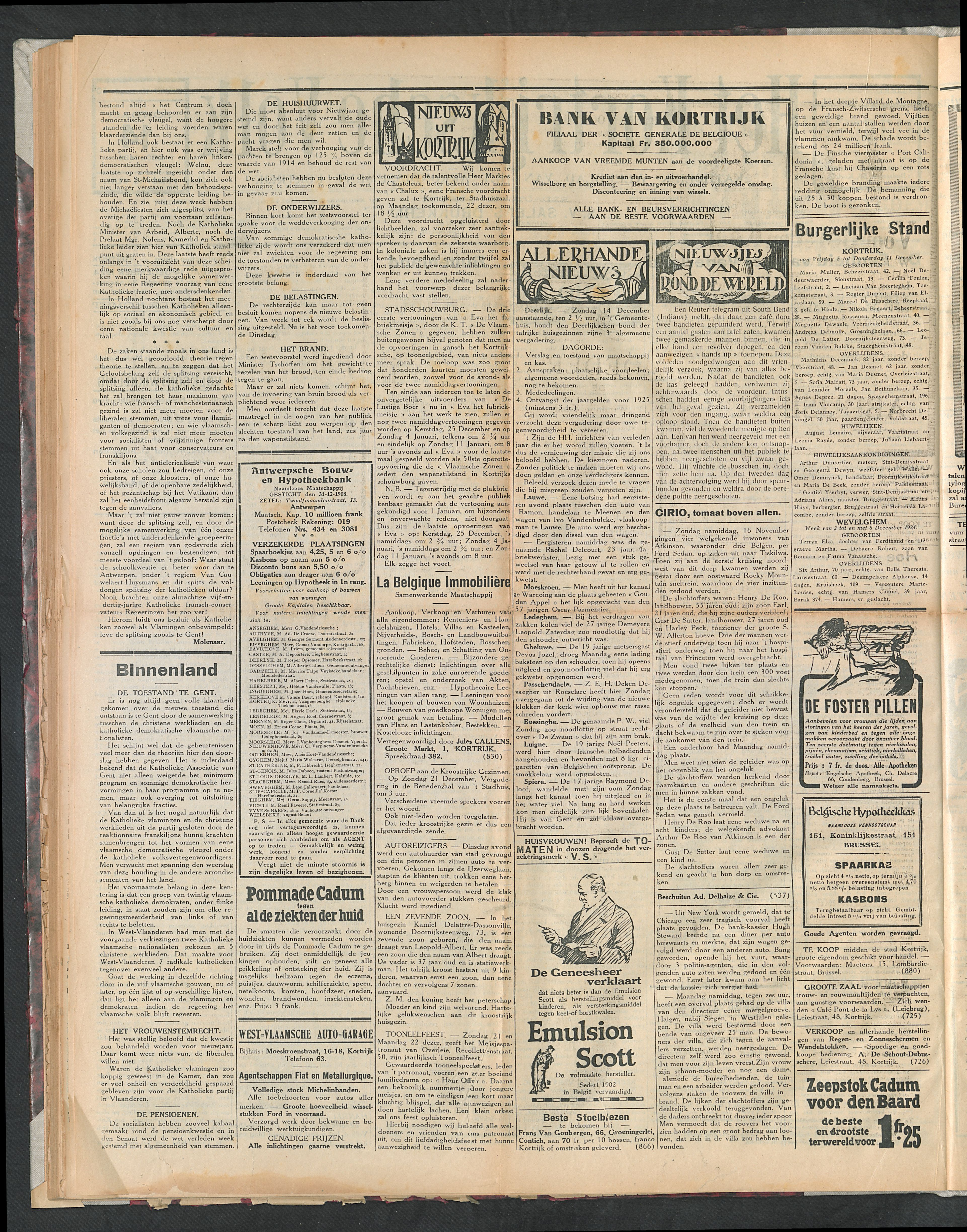 Het Kortrijksche Volk 1924-12-14 p2