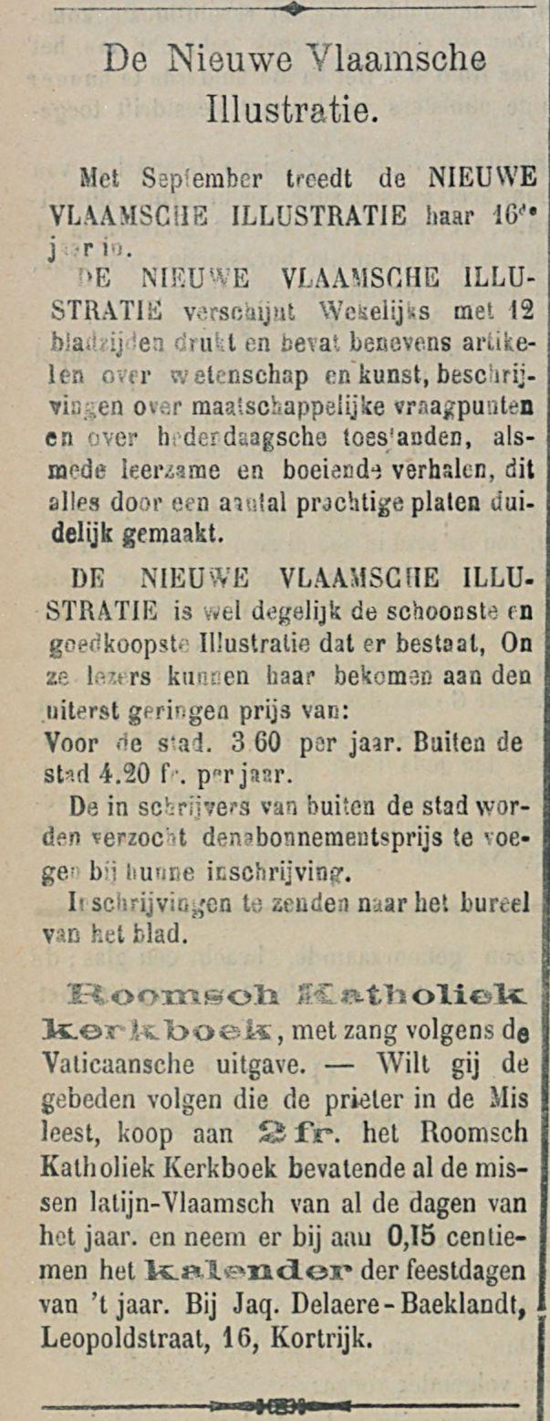 De Nieuwe Vlaamsche Illastratie