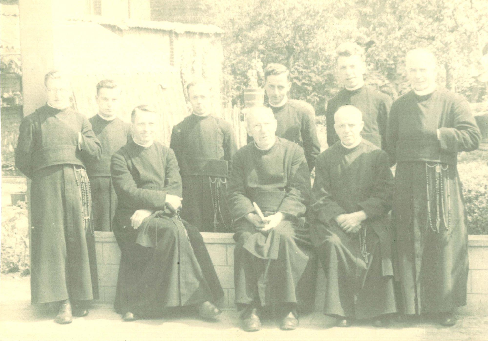 Groepsfoto Broederschool Overleie 1940-41