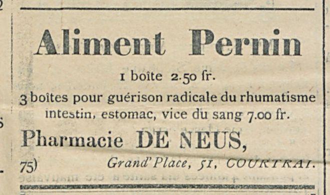 Aliment Pernin