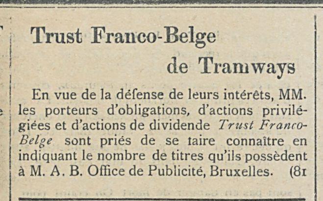 Trust Franco-Belge
