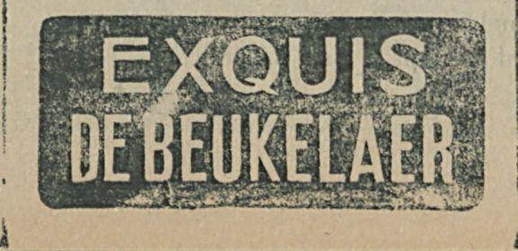EXQUIS DE BEUKELAER