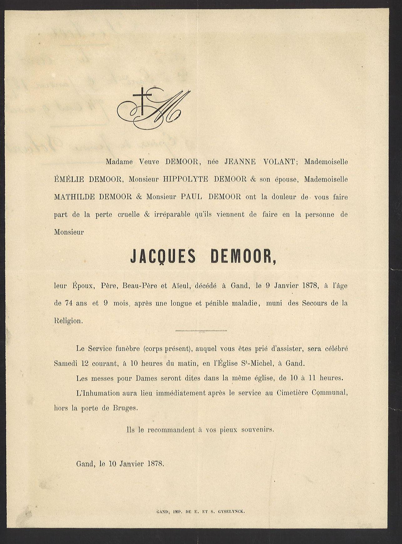 Jacques Demoor