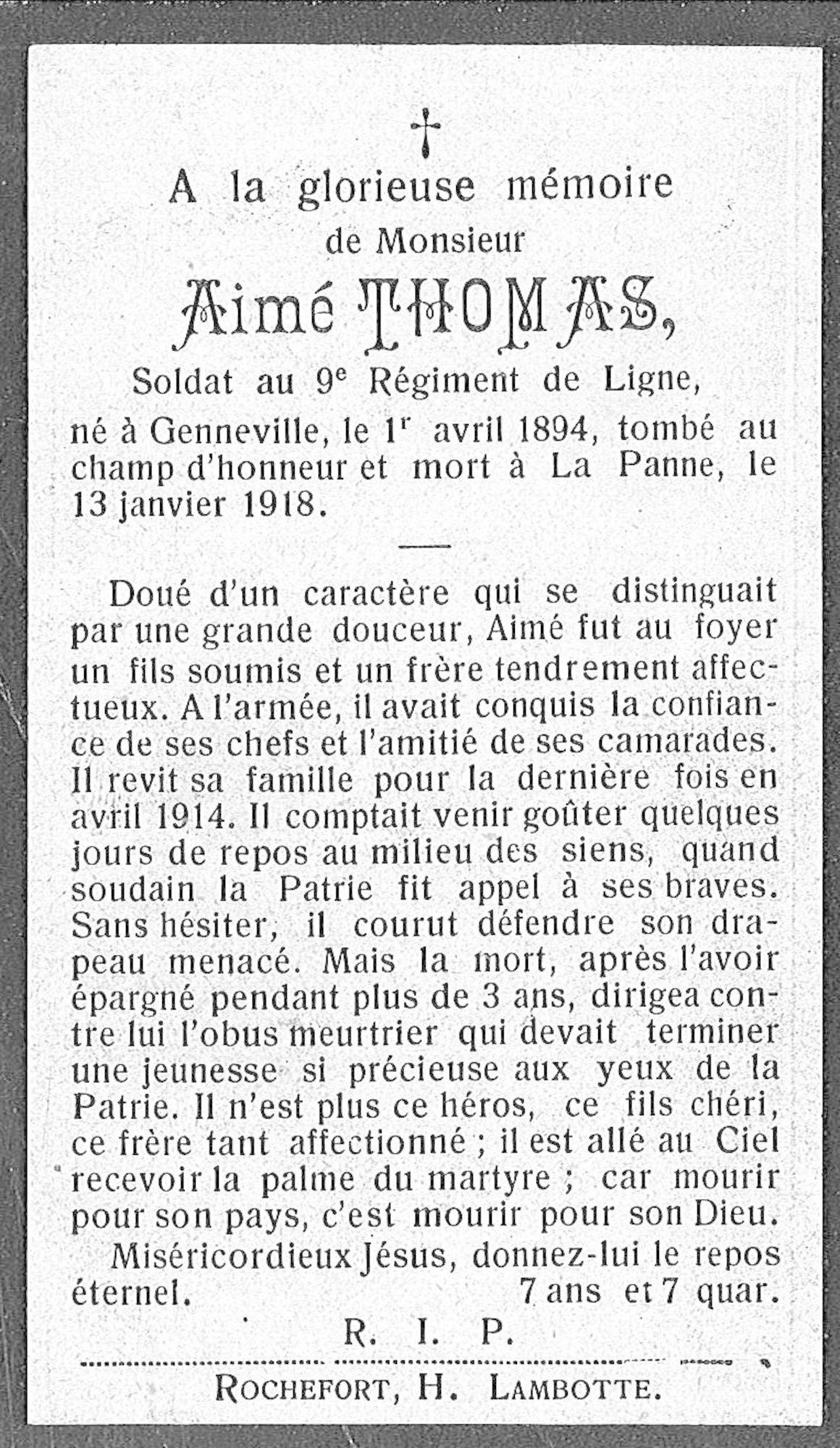 Aimé Thomas