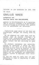 Emilius Maes