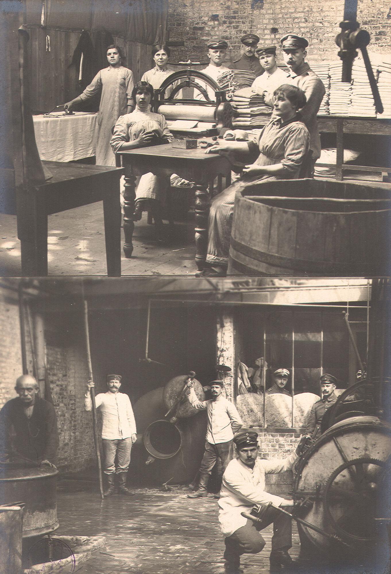 Arbeiders tijdens Wereldoorlog I