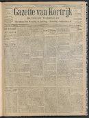 Gazette Van Kortrijk 1908-11-19 p1