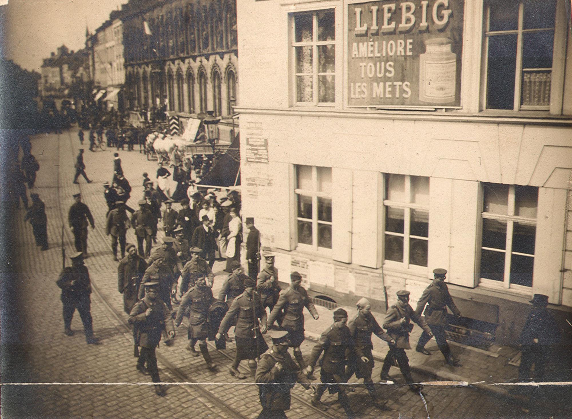 Schotse krijgsgevangenen in 1915