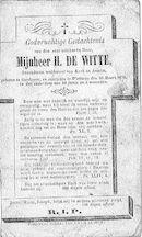 H. De Witte