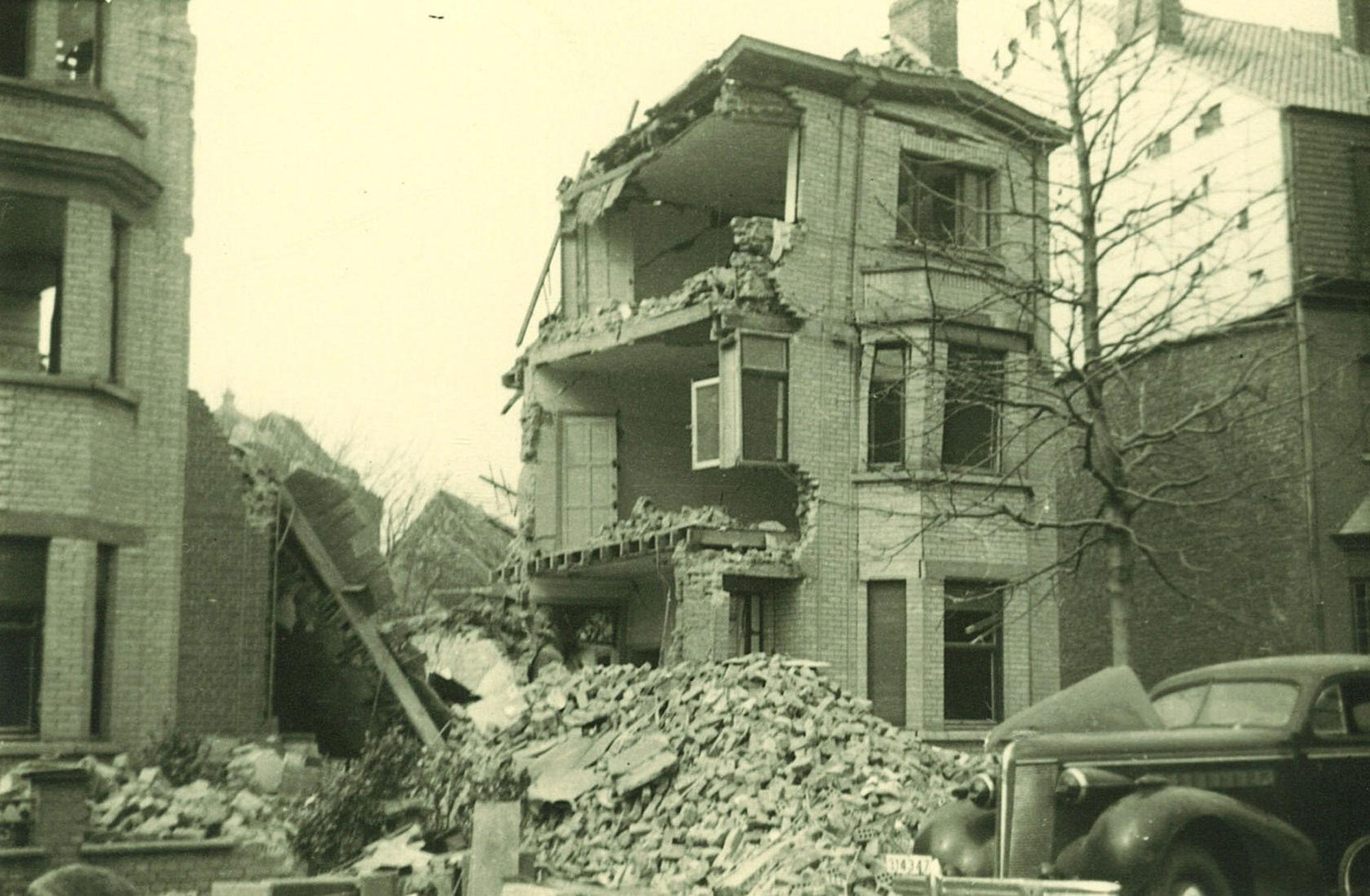Magdalenastraat in 1944
