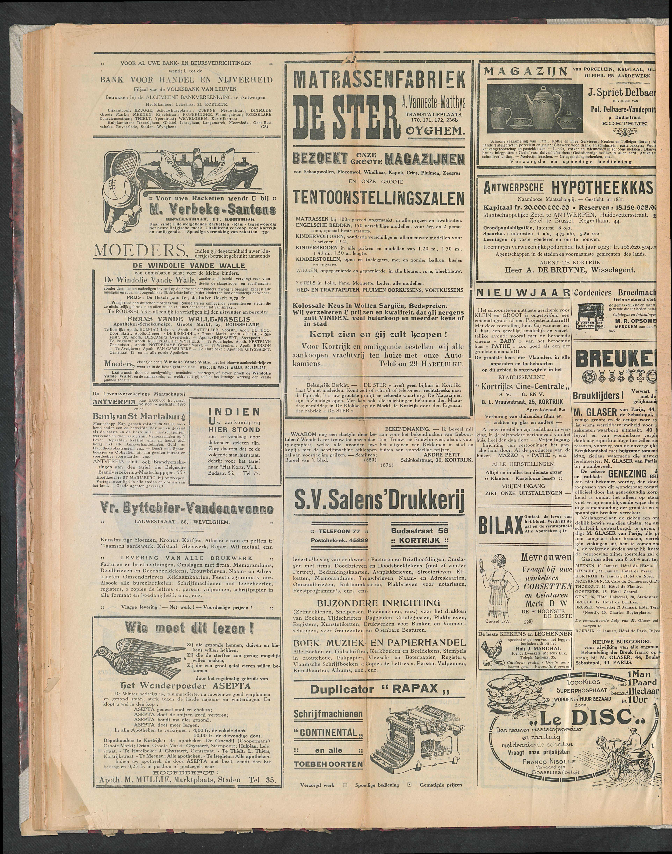 Het Kortrijksche Volk 1924-12-28 p4