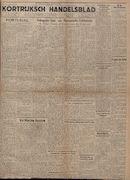 Kortrijksch Handelsblad 18 oktober 1946 Nr84 p1