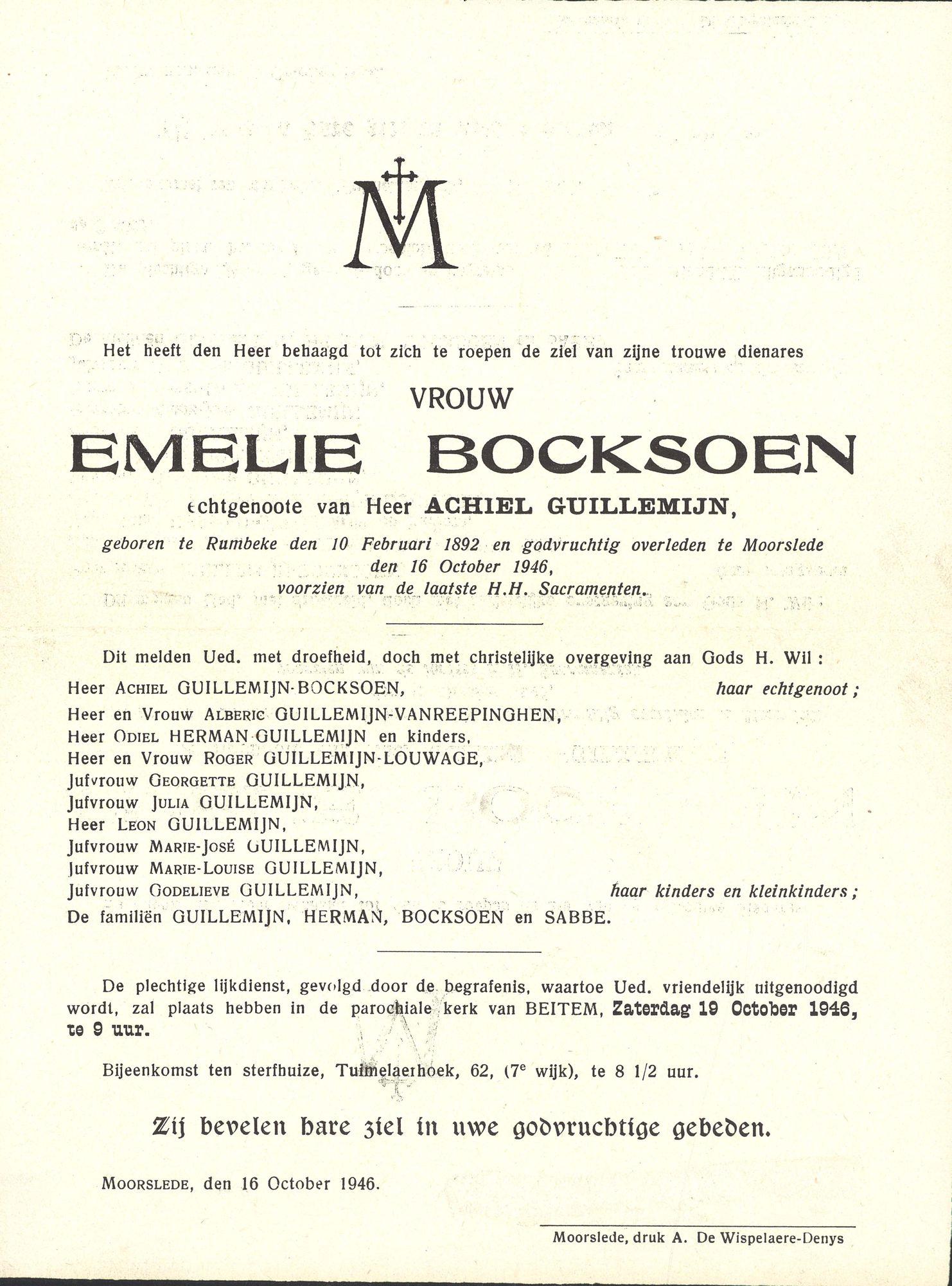 Emelie Bocksoen