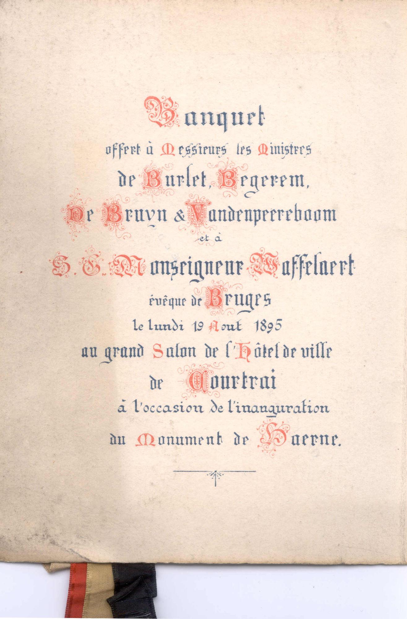 De Haernemonument inhuldiging 1895 4/4