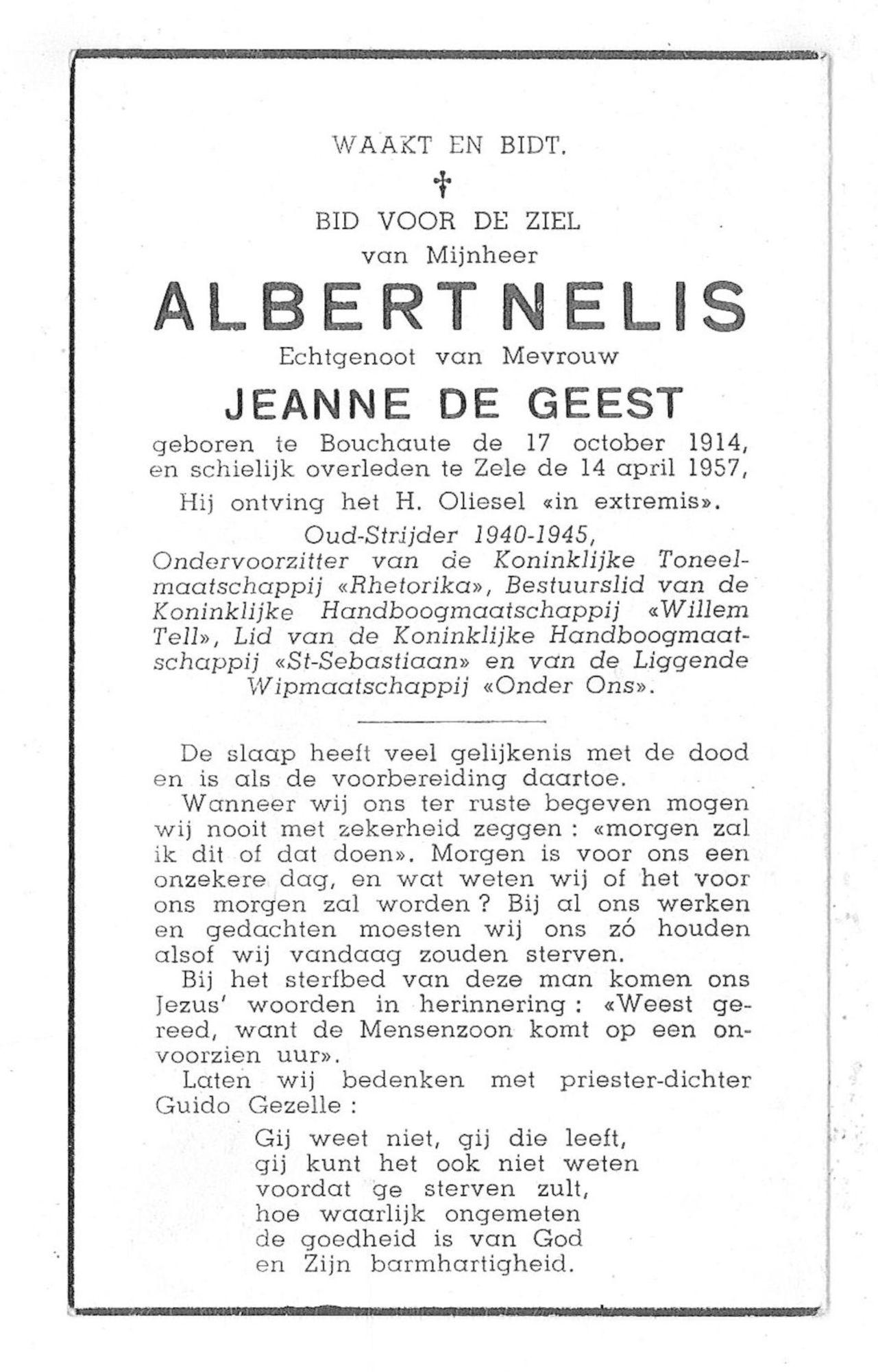 Albert Nelis