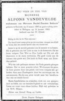 Alfons Vandevelde