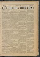 L'echo De Courtrai 1891-06-18