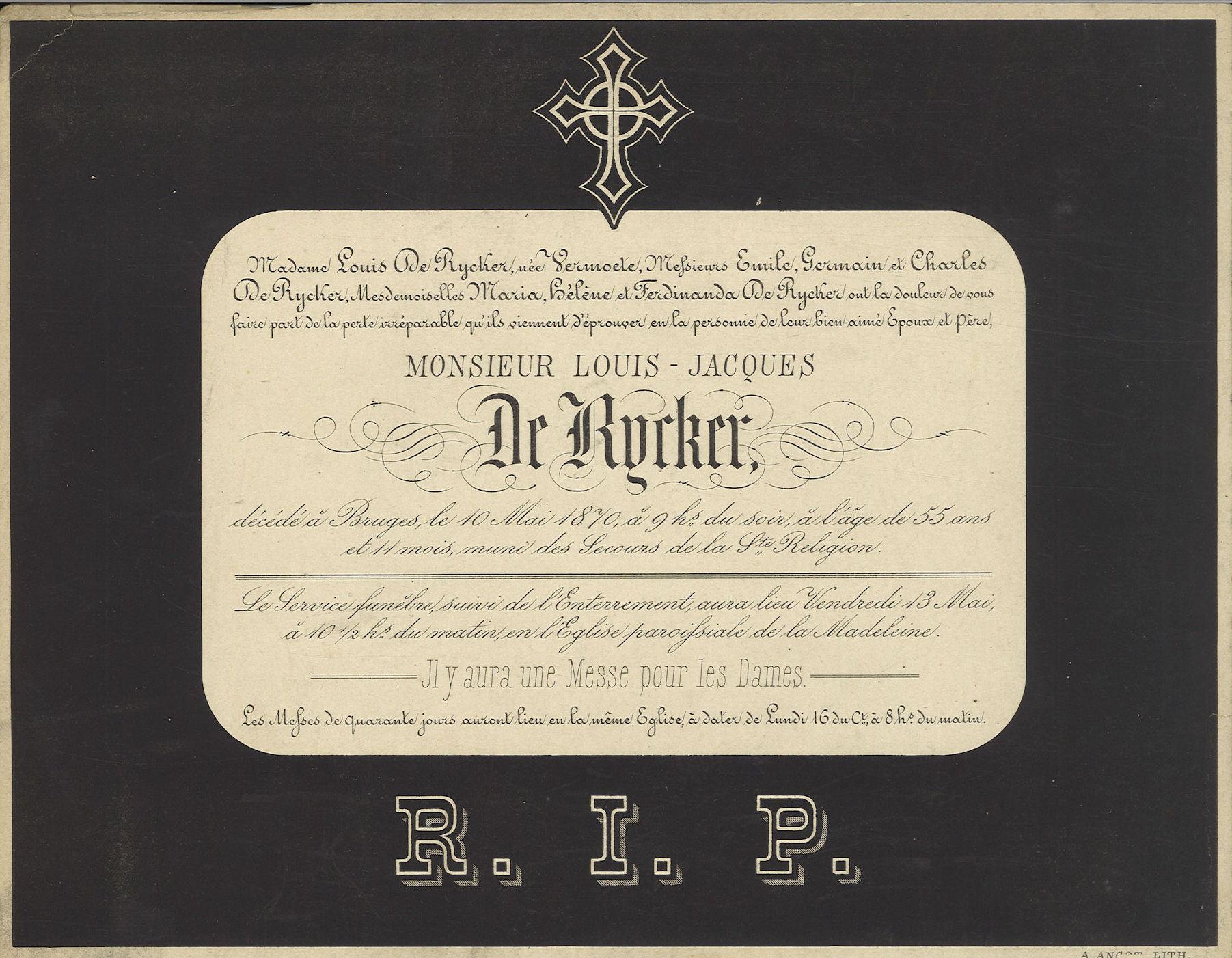 Louis-Jacques De Rycker