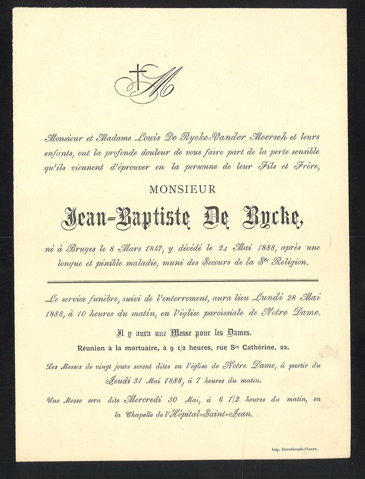 Jean-Baptiste De Rycke