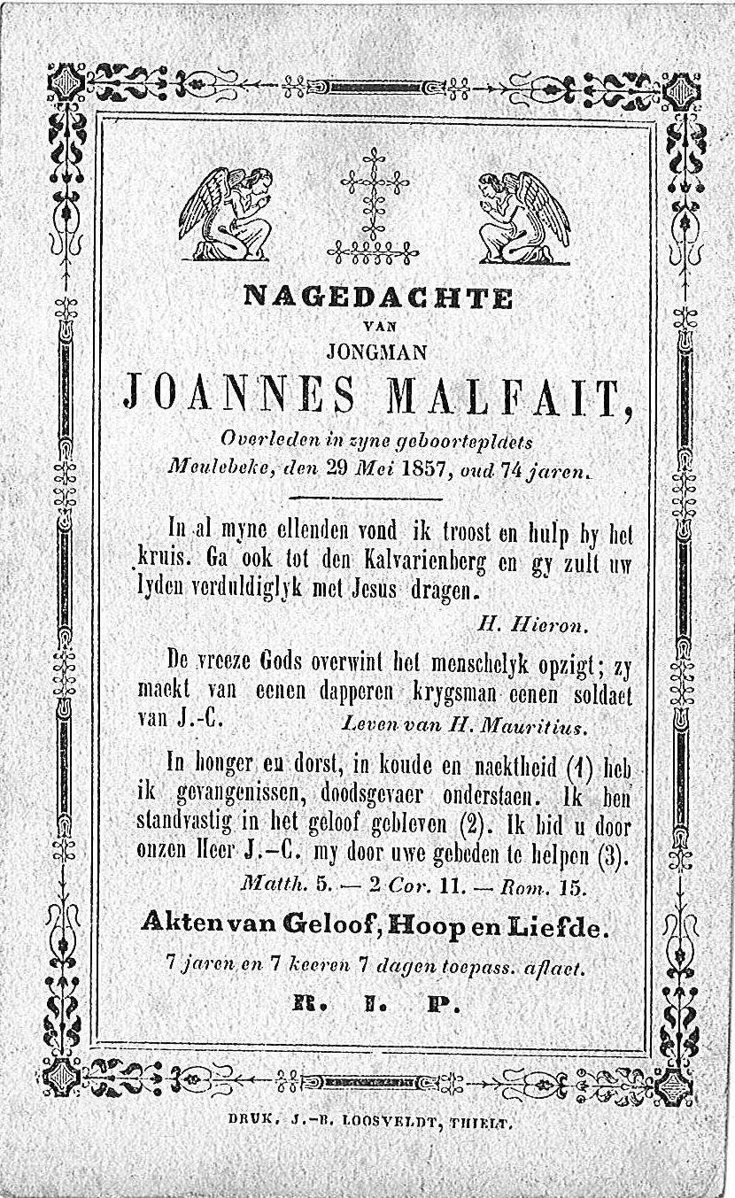 Joannes Malfait