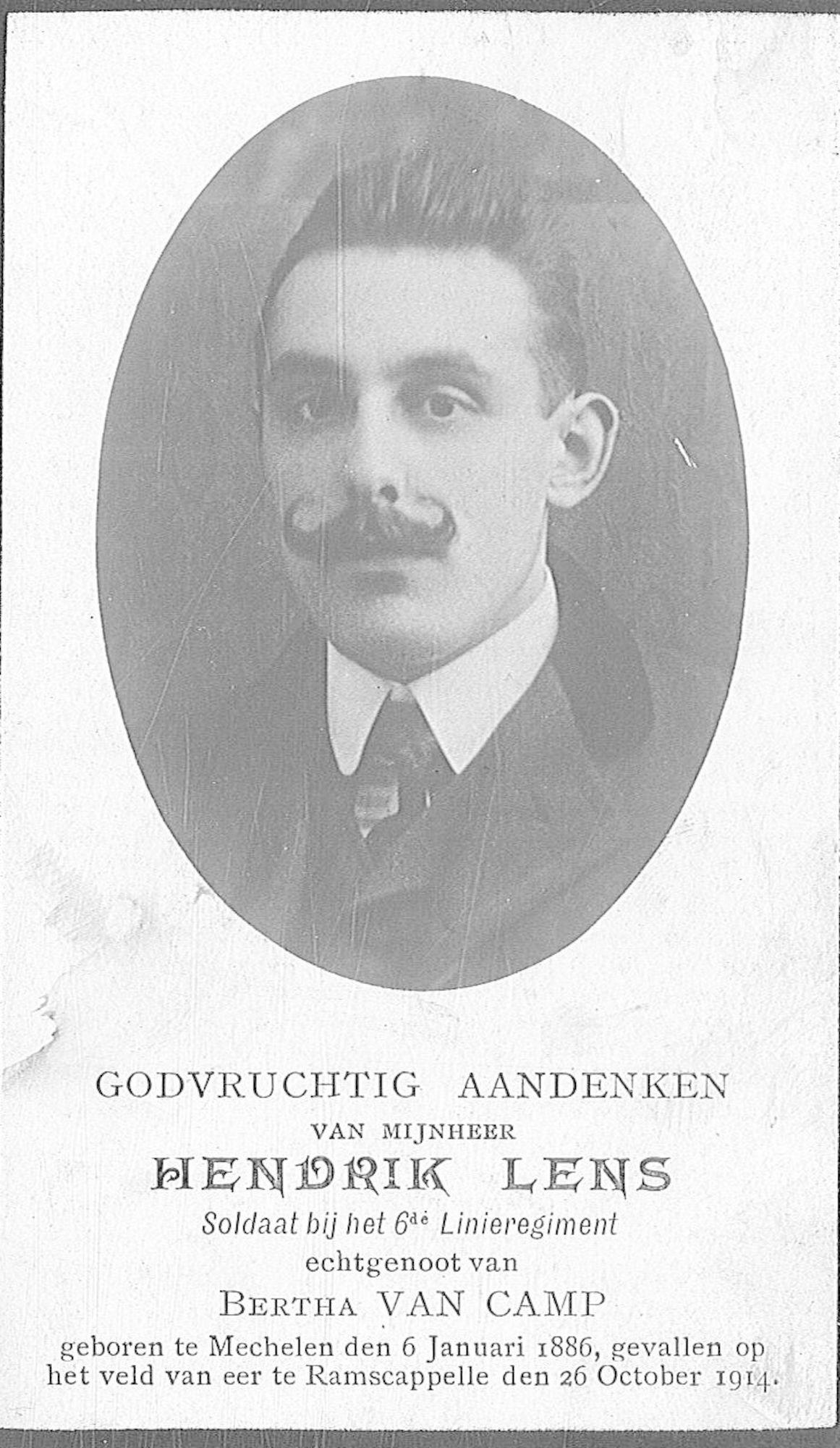 Lens Hendrik