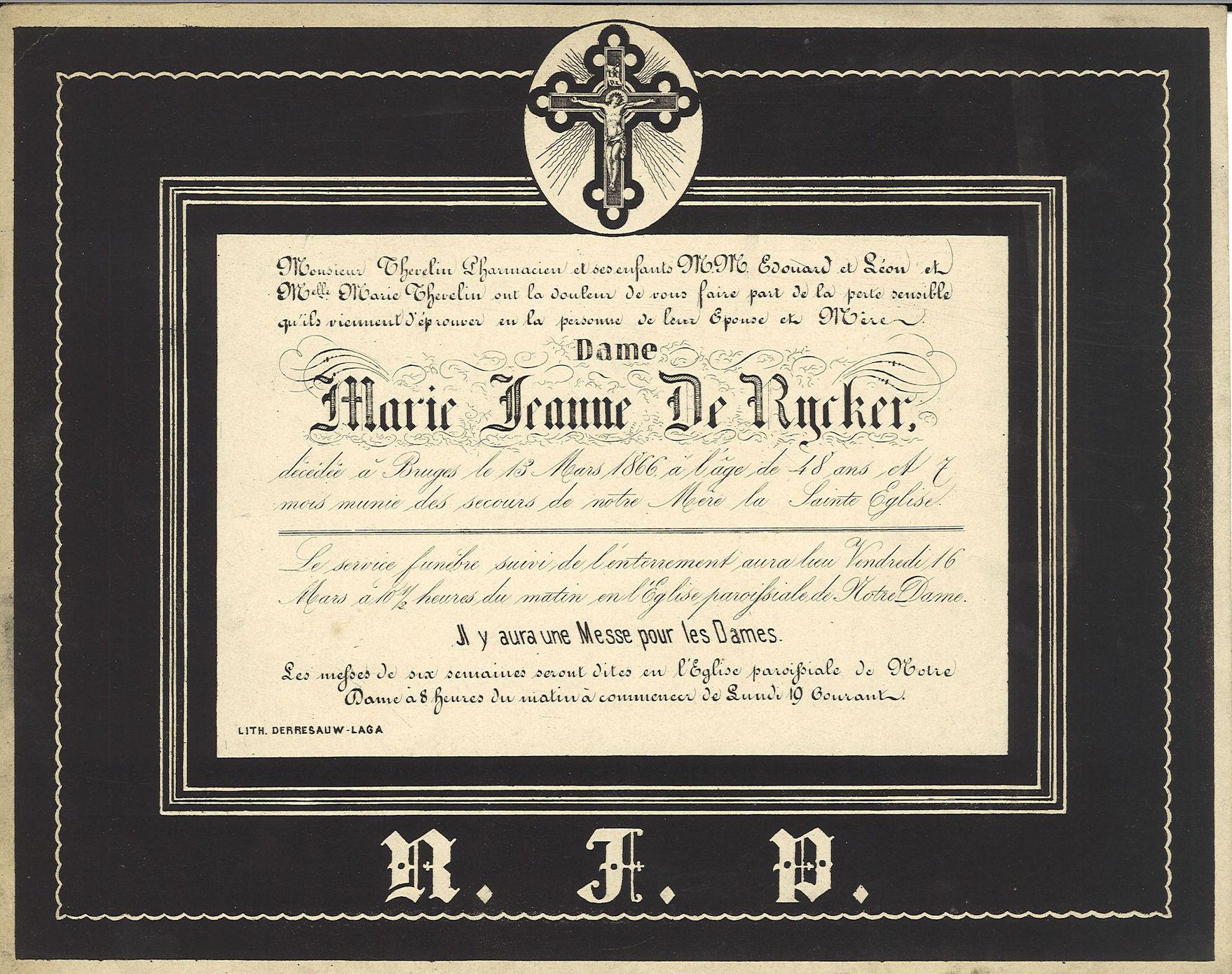 Marie Jeanne De Rycker