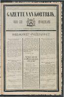 Gazette Van Kortrijk 1879-07-12