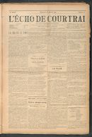 L'echo De Courtrai 1911-01-22