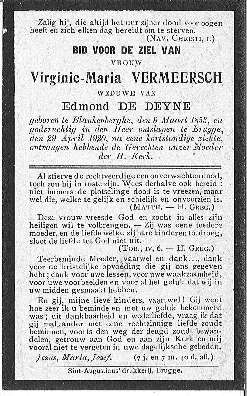 Virginie-Maria Vermeersch